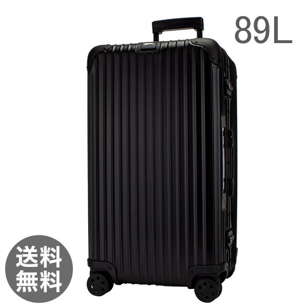 リモワ トパーズステルス 89L 4輪 923.75.01.5 スポーツ ブラック スーツケース 電子タグ 【E-Tag】