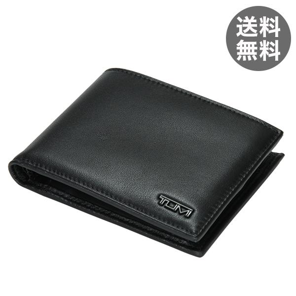 TUMI トゥミ 18637 SLG デルタ Global Coin Wallet グローバル・コイン・ウォレット Black ブラック 二つ折り財布